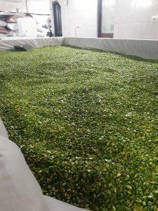 sliced pistachios