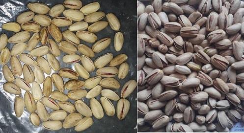 raw unshelled pistachios