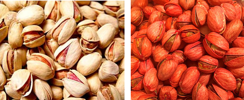 red pistachios iran