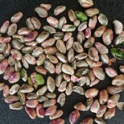 green pistachio kernels for ice cream