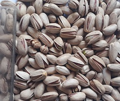 raw shelled pistachio nuts