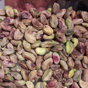 roasting pistachio kernels